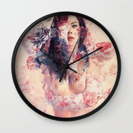 Angel Face Wall Clock