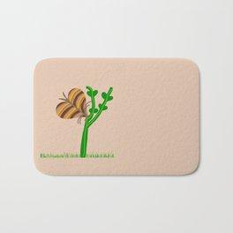 Nature's Fly Love You Butter Bug Bath Mat