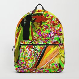 Butterfly Autumn So Pretty ORANGE AND GOLD Backpack