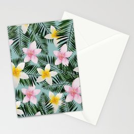 Leave Me Aloha in Seafoam Stationery Cards