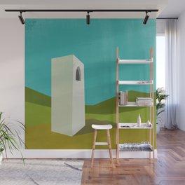 Simple Housing - A love tower Wall Mural