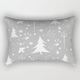 Terracotta Winter  Rectangular Pillow