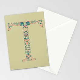 Trim the T Stationery Cards