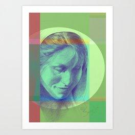 Margriet 03 Art Print