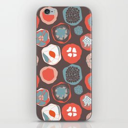 The Center Of The Flower iPhone Skin
