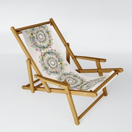 Circle of life- floral Sling Chair