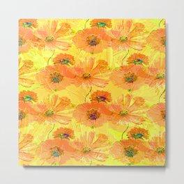 Orange Lemonade Metal Print