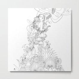 Edena Metal Print