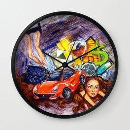 First World Problems Wall Clock