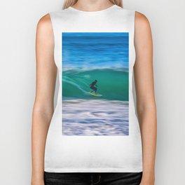 Long Shutter Speed Surfer Biker Tank