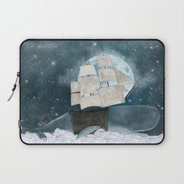 the sky whale Laptop Sleeve