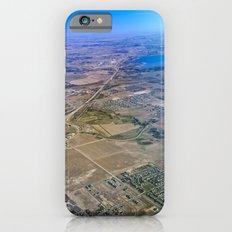 Superman's perspective iPhone 6 Slim Case