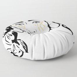 Queen B Tribe Floor Pillow