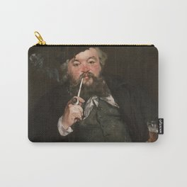 Édouard Manet - Happy Beer Drinker Carry-All Pouch
