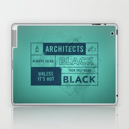 Architects wear black Laptop & iPad Skin