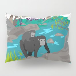 Gorillas Pillow Sham