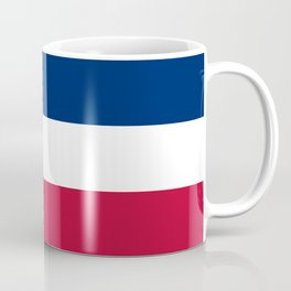 Mississippi State Flag, Authentic Version Coffee Mug