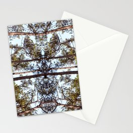 Mirrored Trees 10 Stationery Cards