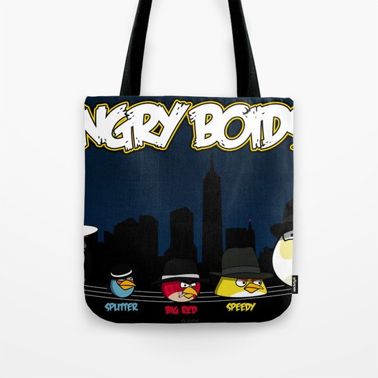 Angry Boids Tote Bag