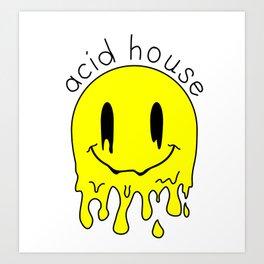 Acid House Meltdown Art Print