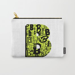 Letter B Carry-All Pouch