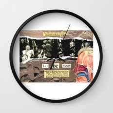 Dare To Be Yourself Wall Clock