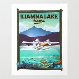 Iliamna Lake - alaska Art Print