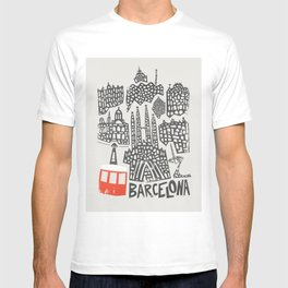 Barcelona Cityscape T-shirt