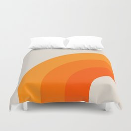 Creamsicle Bow Duvet Cover