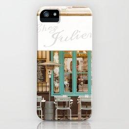 Chez Julien iPhone Case