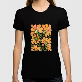 Happy California Poppies / hand drawn flowers T-shirt