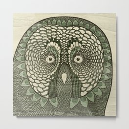Owlustrations 3 Metal Print