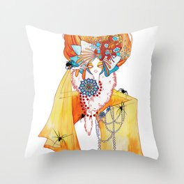 Seven Deadly Sins 'Greed' Throw Pillow
