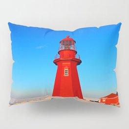 Lighthouse  and Frozen Sea Pillow Sham