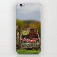 Flower Cart iPhone & iPod Skin