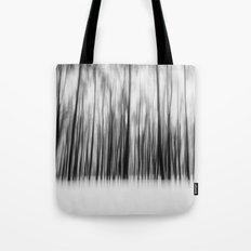 Trees   Black and White Tote Bag