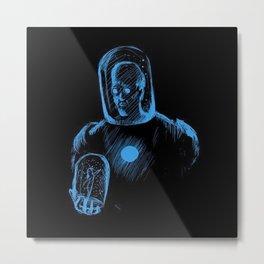 Super Hero 10 Metal Print