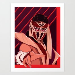 Phoenix Never Dies Art Print