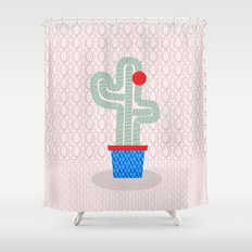 This is me, the cactus Shower Curtain