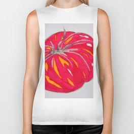 juicy red tomato Biker Tank