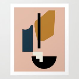 Shape study #2 - Lola Collection Art Print