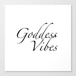 Goddess Vibes Canvas Print