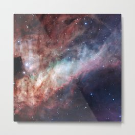 Astrophotography, The Omega Nebula Metal Print