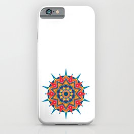 Mandala Laranja iPhone Case