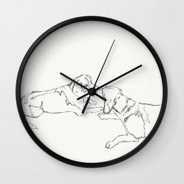 Gabbie & Rosie Wall Clock