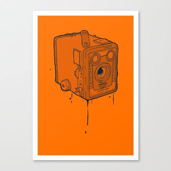 box brownie Canvas Print