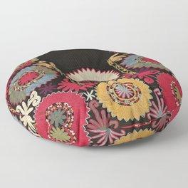 Lakai Uzbekistan Embroidery Print Floor Pillow
