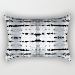 BW Satin Shibori Rectangular Pillow