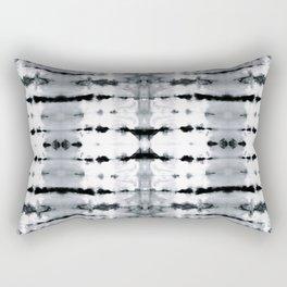 BW Satin Shibori Rectangular Pillow