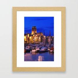 Cathedral lights Framed Art Print